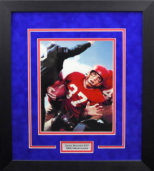 Doak Walker SMU Mustangs 8x10 Framed Photograph