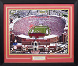 Florida State Seminoles Doak Campbell Stadium 16x20 Framed Photograph - Aerial