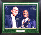 Robert Griffin III & Art Briles Autographed Baylor Bears 16x20 Framed Photograph
