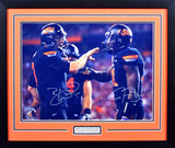 Brandon Weeden & Justin Blackmon Autographed Oklahoma State Cowboys 16x20 Framed Photograph