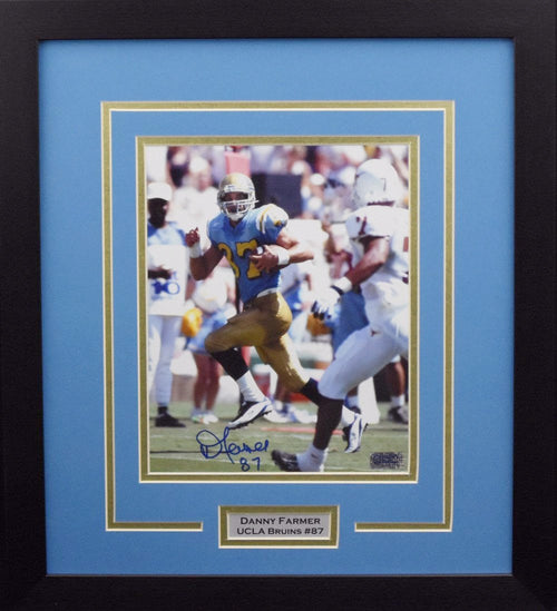 Danny Farmer Autographed UCLA Bruins 8x10 Framed Photograph