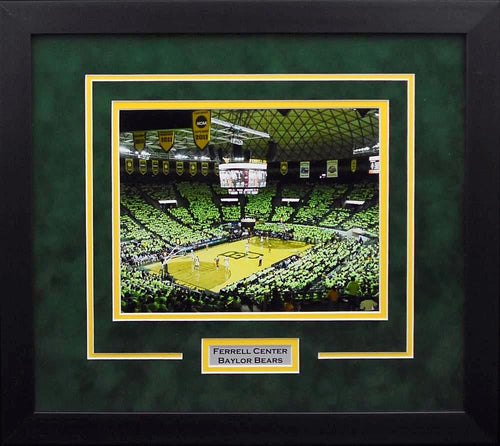 Baylor Bears Ferrell Center 8x10 Framed Photograph #1