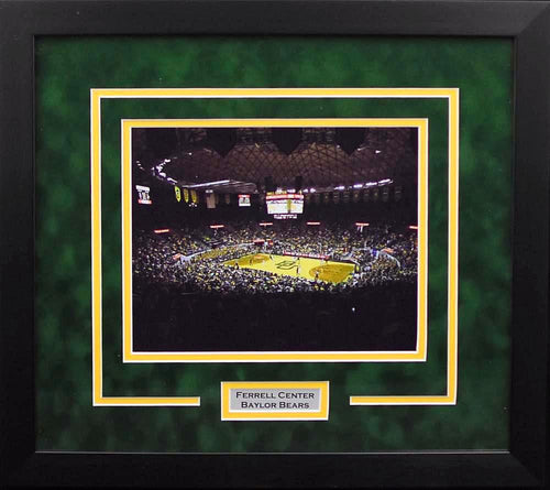 Baylor Bears Ferrell Center 8x10 Framed Photograph #2