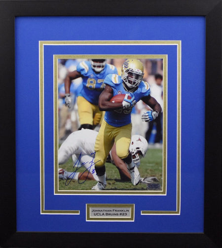 Russell Westbrook Autographed UCLA Bruins 8x10 Framed Photograph (vs Yale)