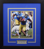 Johnathan Franklin Autographed UCLA Bruins 8x10 Framed Photograph (vs Texas)