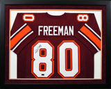 Antonio Freeman Autographed Virginia Tech Hokies #80 Framed Jersey