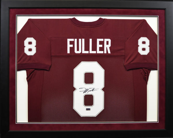 Jeff Fuller Autographed Texas A&M Aggies #8 Framed Jersey