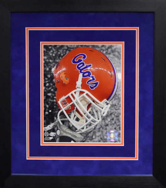 Florida Gators Helmet 8x10 Framed Photograph
