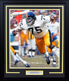 Joe Greene Autographed Pittsburgh Steelers 16x20 Framed Photograph