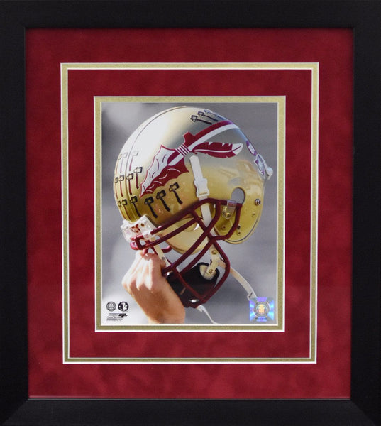 Florida State Seminoles Helmet 8x10 Framed Photograph