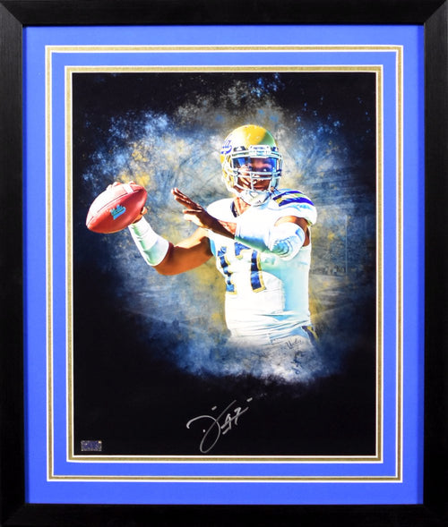 Brett Hundley Autographed UCLA Bruins 16x20 Framed Photograph (Custom)