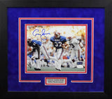 Craig James Autographed SMU Mustangs 8x10 Framed Photograph