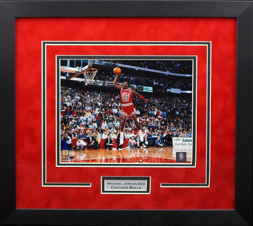 Michael Jordan Chicago Bulls 8x10 Framed Photograph