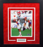 David Klingler Autographed Houston Cougars 8x10 Framed Photograph