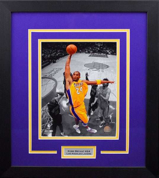 Kobe Bryant Los Angeles Lakers 8x10 Framed Photograph