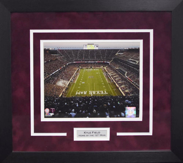Texas A&M Aggies Kyle Field 8x10 Framed Photograph (2015)