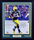 Eddie Lacy Autographed Green Bay Packers 16x20 Framed Photograph