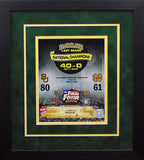 Baylor Bears Women's National Champions 8x10 Framed Photograph