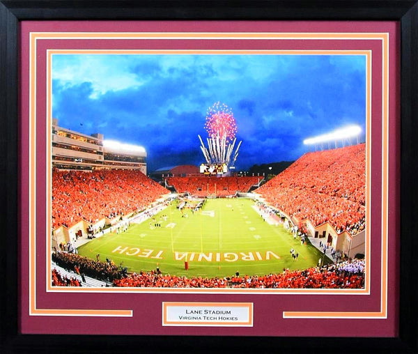 Virginia Tech Hokies Lane Stadium 16x20 Framed Photograph