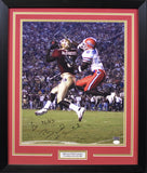 Bryant McFadden Autographed Florida State Seminoles 16x20 Framed Photograph