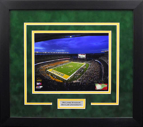 Baylor Bears McLane Stadium 8x10 Framed Photograph #1