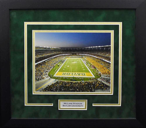 Baylor Bears McLane Stadium 8x10 Framed Photograph #2