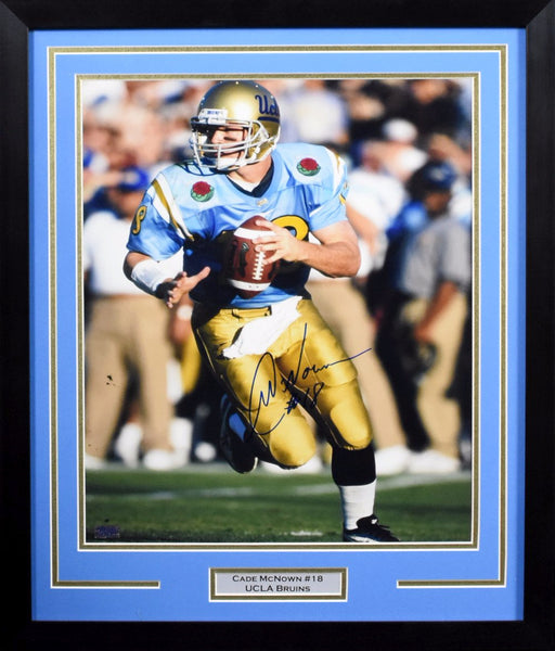 Cade McNown Autographed UCLA Bruins 16x20 Framed Photograph