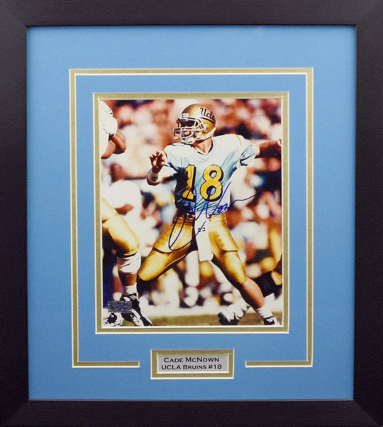 Cade McNown Autographed UCLA Bruins 8x10 Framed Photograph