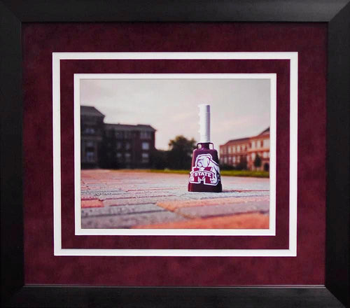 Mississippi State Bulldogs Cowbell 8x10 Framed Photograph