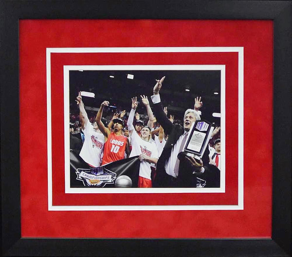 New Mexico Lobos 2014 MWC Champions 8x10 Framed Photograph