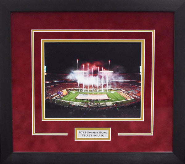 Florida State Seminoles 2013 Orange Bowl 8x10 Framed Photograph