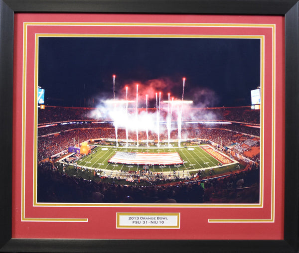 Florida State Seminoles 2013 Orange Bowl 16x20 Framed Photograph