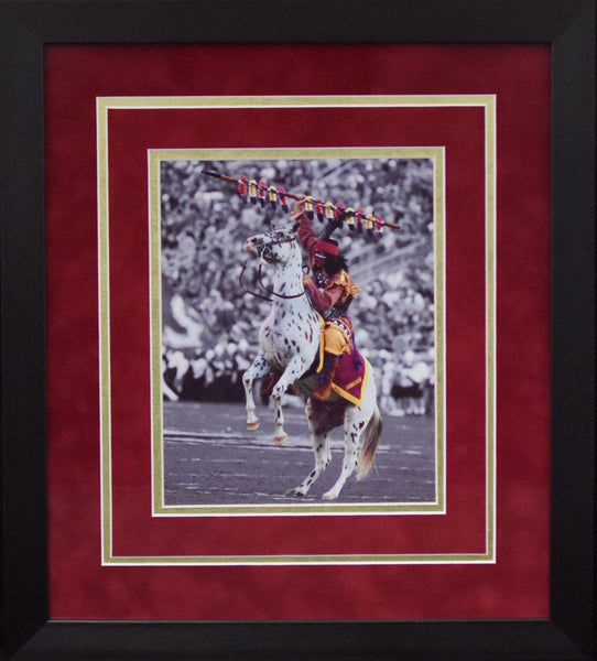 Florida State Seminoles Chief Osceola 8x10 Framed Photograph - Spotlight Vertical