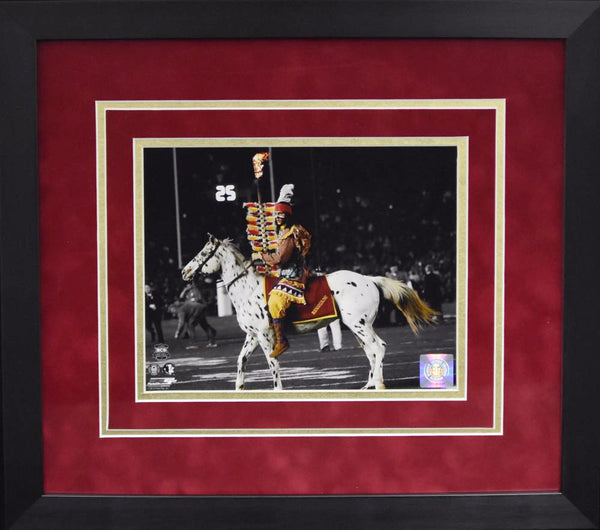 Florida State Seminoles Chief Osceola 8x10 Framed Photograph - BCS Game