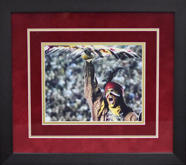 Florida State Seminoles Chief Osceola 8x10 Framed Photograph - Spotlight Horizontal