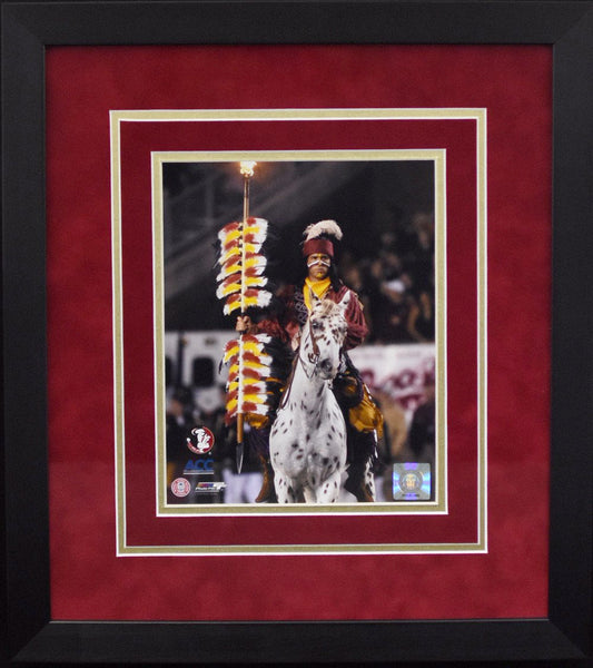 Florida State Seminoles Chief Osceola 8x10 Framed Photograph - Vertical