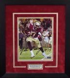 Jalen Ramsey Autographed Florida State Seminoles 8x10 Framed Photograph - Color
