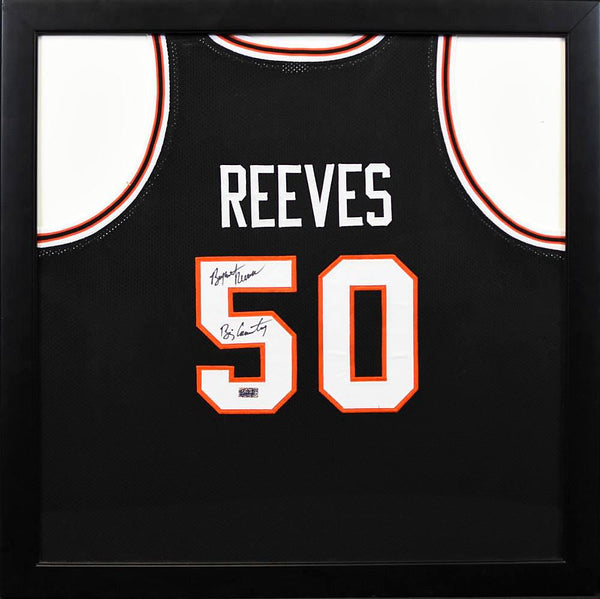 Bryant Reeves Autographed Oklahoma State Cowboys #50 Framed Jersey