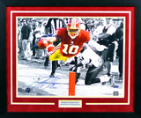 Robert Griffin III Autographed Washington Redskins 16x20 Framed Photograph