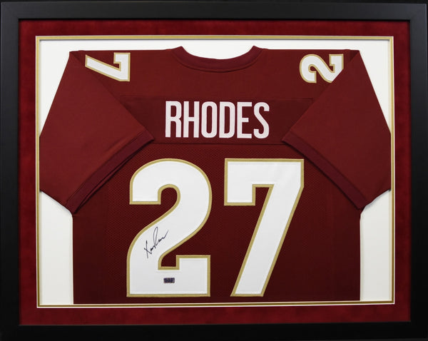 newest 48411 7719c Xavier Rhodes Autographed Florida State Seminoles #27 Framed Jersey