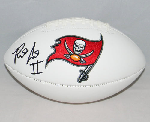 Ronald Jones II Autographed Tampa Bay Buccaneers Logo Football