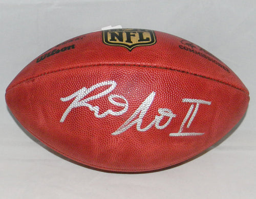 Ronald Jones II Autographed Official Wilson NFL Duke Football