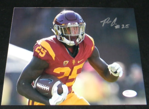Ronald Jones II Autographed USC Trojans 8x10 Photograph #2