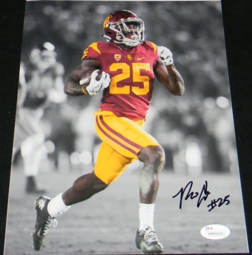 Ronald Jones II Autographed USC Trojans 8x10 Photograph #1