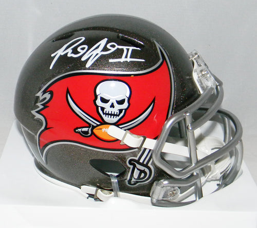 Ronald Jones II Autographed Tampa Bay Buccaneers Speed Mini Helmet