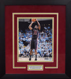 Chris Singleton Autographed Florida State Seminoles 8x10 Framed Photograph vs North Carolina