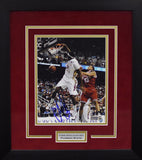 Chris Singleton Autographed Florida State Seminoles 8x10 Framed Photograph - Dunking
