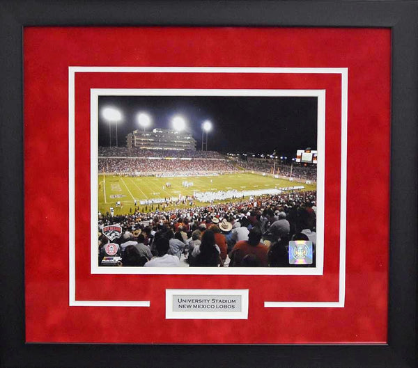 New Mexico Lobos University Stadium 8x10 Framed Photograph