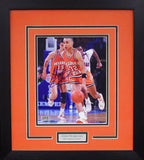 John Starks Autographed Oklahoma State Cowboys 8x10 Framed Photograph