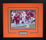 Josh Stewart Autographed Oklahoma State Cowboys 8x10 Framed Photograph